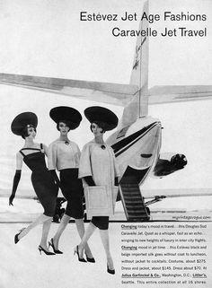 Models wearing designs by Estevez 1961
