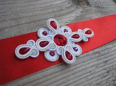 Ridgways / White-Gold-Red - opasok...soutache