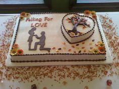 Fall Bridal Shower Cake
