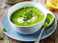 Unser beliebtes Rezept für Brunnenkresse-Suppe und mehr als 55.000 weitere kostenlose Rezepte auf LECKER.de.