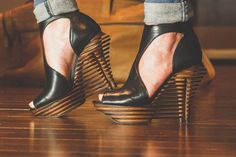 This Dual-Heeled Shoe Aims To Make Stilettos As Comfortable As Sneakers | Fast Company | Business + Innovation