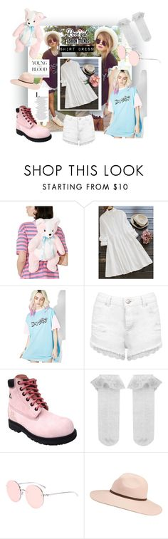 """""""ruff collar white shirtdress"""" by caroline-buster-brown ❤ liked on Polyvore featuring Lazy Oaf, Bebe, Miss Selfridge, Moxie Trades, Monsoon and Billabong"""