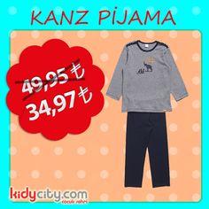 Küçük prensleriniz için Kanz pijama 49,95 TL yerine 34,97 TL indirimli fiyatı ile kidycity.com'da!