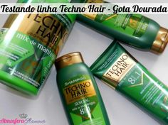 gota dourada linha profissional imagens | Cabelos Gota Dourada Techno Hair Testei