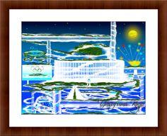 雲の上のオリンピックスタジアム by RYUKYU DREAM JAPAN   CREATORS BANK http://creatorsbank.com/yasukinjo/works/286633
