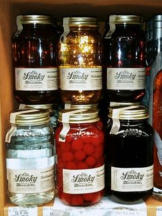 Ole Smoky Moonshine - I got the Grape Lightnin', it tastes just like Welch's grape juice!