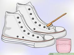 Tvätta dina vita converse i tvättmaskin och få dem som nya igen