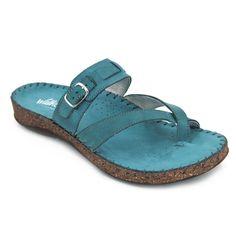 b0651520b66 Walk & Fly 3861-22201 Sandalias hechas con pieles suaves y con una cuña de