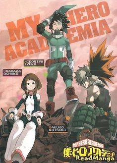 Boku no Hero Academia - Xmen meet anime | Breakout Manga of 2015 | From a whopping 27692 responses, My Hero Academia took the top spot and the magazine's samurai comedy Isobee joined the list! : http://goodereader.com/blog/manga-and-anime-news/my-hero-academia-voted-breakout-manga-of-2015