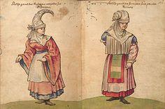 Trachtenbuch des Christoph Weiditz - Wikimedia Commons