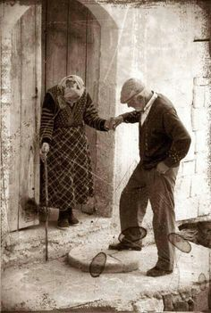 Even when we are old I'll love each day with you by my side. Realistic. Love. Marry someone for their heart, not their appearance.