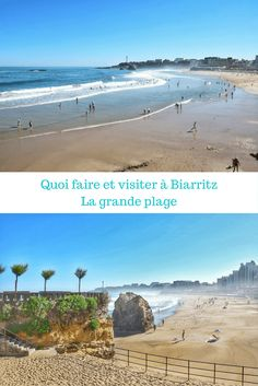 Que visiter à Biarritz au Pays Basque : la grande plage