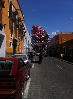 Would have loved to be a kid this day! Puebla, Mexico