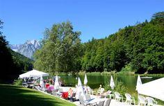 Riessersee,  Strandbad am See, Garmisch-Partenkirchen, Bayern - http://www.riessersee.com/
