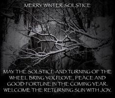 Pagan Yule, Pagan Witch, Samhain, Happy Winter Solstice, Summer Solstice, Winter Solstice Quotes, Book Of Shadows, Winter Holidays, Happy Holidays