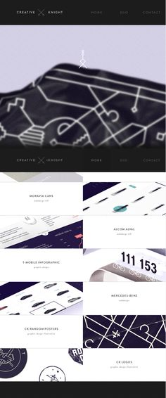 Portfolio of CREATIVE KNIGHT, May 14, 2014. http://www.awwwards.com/web-design-awards/portfolio-of-creative-knight #Responsive #UI #Inspiration #Web #Design #Playful #SOTD #Awwwards