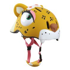 Leopard Helmet Crazy Safety Teen Children- A large selection of Toys and Hobbies on Smallable, the Family Concept Store - More than 600 brands.