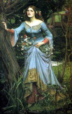 John William Waterhouse  - Ophelia 1910