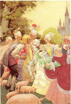 Rudolf Koivu 'The Swineherd' Hans Christian Andersen (1940)