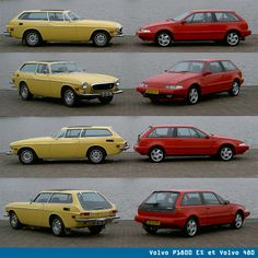 Volvo P1800es, and I had a red 480 once already...