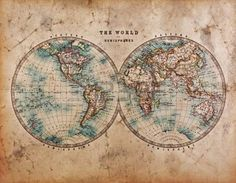 Uphome Antique Map of the World Wall Tapestry Hanging - Light-weight Polyester Fabric Wall Decor x Old Map) Antique World Map, Old World Maps, Vintage World Maps, Antique Maps, World Map Wallpaper, Photo Wallpaper, Wall Wallpaper, World Map Tapestry, Tapestry Wall