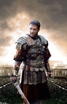 Gladiator movie key art
