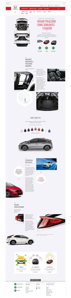 Honda Europe - Website & Art Direction