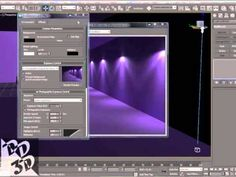 tutorial - luzes photométricas - 3D max - YouTube