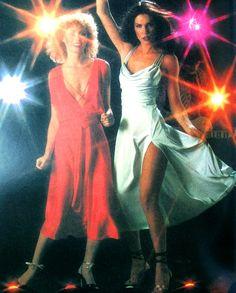 Seventies disco fashion