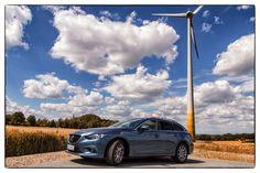 """Beim Mazda6 richtet sich alles nach den Regeln des """"Kodo""""-Designs von Mazda. Demnach soll sich die natürliche Bewegung von Menschen oder Tieren in den Fahrzeugen widerspiegeln. #mazda6"""