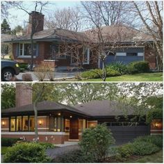 1980 Ranch House Remodel | Exterior in 2019 | Home ...