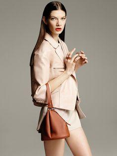 bucket handbag by Giorgio #Armani