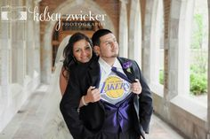 Shane's must have Laker wedding picture :)