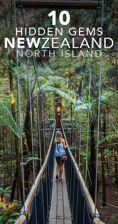 Waterfalls, beaches down dirt tracks, Japanese style gardens, and the movie stand in for Mount Fuji, don't miss these New Zealand North Island hidden gems. #NewZealand #NorthIsland #Taranaki