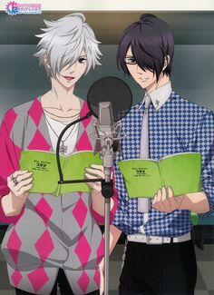 Brothers Conflict - Multipurpose Wall Scroll Noren: Tsubaki & Azusa at Afreco Hot Anime Guys, I Love Anime, All Anime, Me Me Me Anime, Hinata, Brothers Conflict, Romance, Diabolik Lovers, Triplets