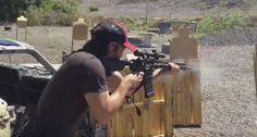 Keanu Reeves Is A 3 Gun Beast!
