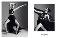 Anna Cleveland for Vionnet The Best Fashion Campaigns from Fall 2015