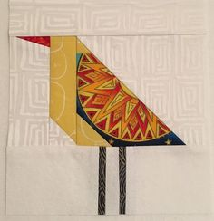My pal Julie has been making birds and just finished a darling quilt using them. I use these birds in a lot of my quilts. You can see some here, and here. I love making them, and I never know where t