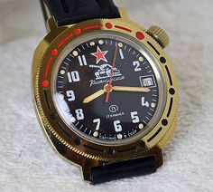 Russian military watch #vostok ussr soviet cccp #1980's #komandirskie boctok, View more on the LINK: http://www.zeppy.io/product/gb/2/142214358734/