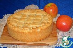 Яблочный пирог с заварным кремом - кулинарный рецепт