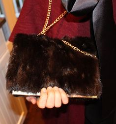South Shore Decorating Blog: Repurposing Sentimental Mink Fur Coats Into Bags and Scarves