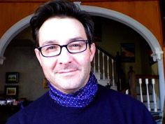 scarf and sweater