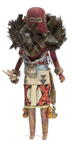 Sipikne kachina tihu, Zuni Warrior kachina, Hopi (Colton 152) [jcx]