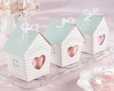 Bird house favor boxes for a baby shower! http://www.partypail.com/ka-28149na-home-tweet-home-bird-house-favor-box.html