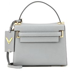 Valentino - My Rockstud leather shoulder bag - We love the elegant design of Valentino's 'My Rockstud' shoulder bag. The smoothly grained leather is accented with gold-tone hardware and the brand's signature pyramid studs. A truly versatile piece, this bag can be worn as a handbag, clutch and even has an optional shoulder strap. Pair with a tonal look for evening occasions. seen @ www.mytheresa.com