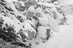 Tiedustelupartio tutustumassa suunniteltuihin etenemisuriin Katitsanlampi 3.1.1940. Finland, Ww2, History, Soldiers, Type 3, Theater, Action, Outdoor, Facebook