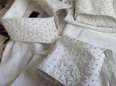 golas de vestido infantil bordado de pérola - Pesquisa Google