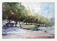 trevor lingard watercolor paintings - Buscar con Google