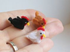 Teeny tiny chickens!