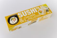 Packaging Sushi To Go by Magdalena Ramírez.